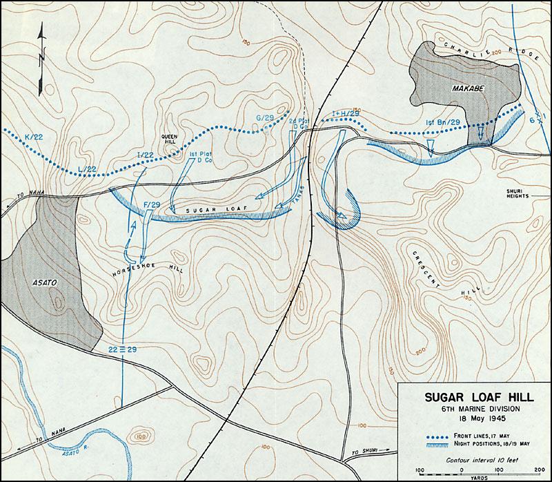 Okinawa The Final Great Battle Of World War II Marine Corps - Us marine map reading kia
