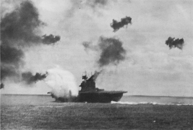 Battle of Midway begins