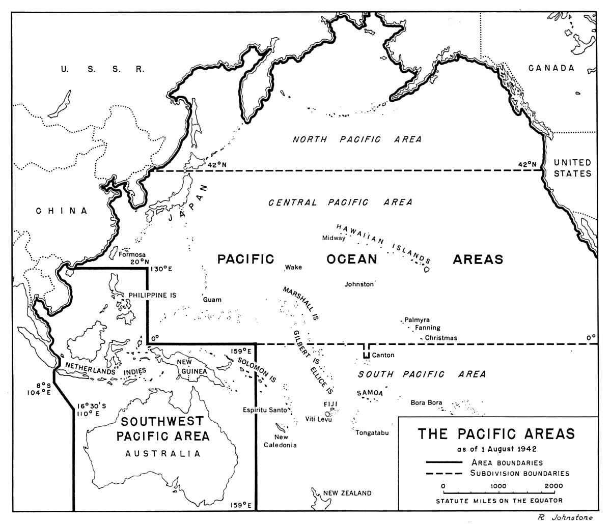 opinions on pacific ocean areas command