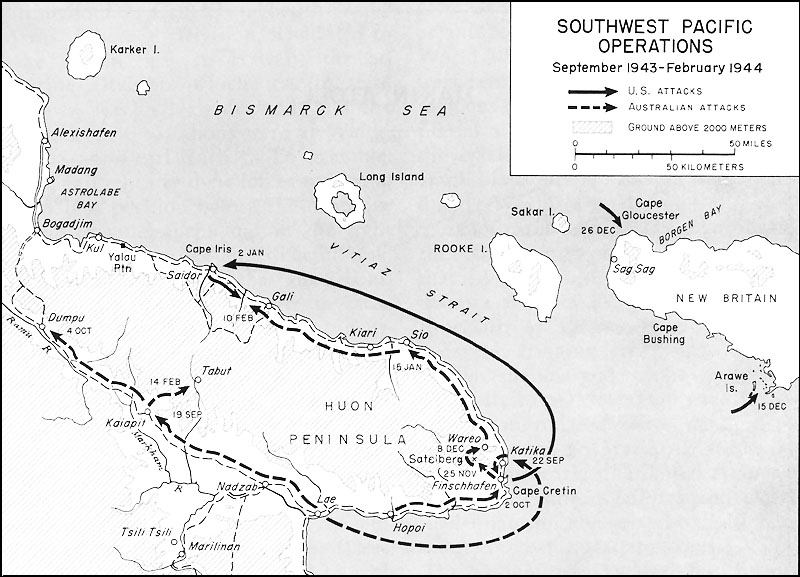 map alexander 1624 southwest pacific