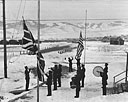 RETREAT CEREMONY AT FORT WILLIAM HENRY HARRISON, Montana