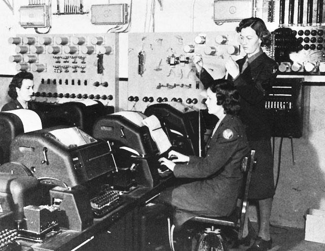 WACs at teletypes