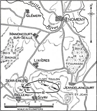 infantry in battle 42nd Infantry Division