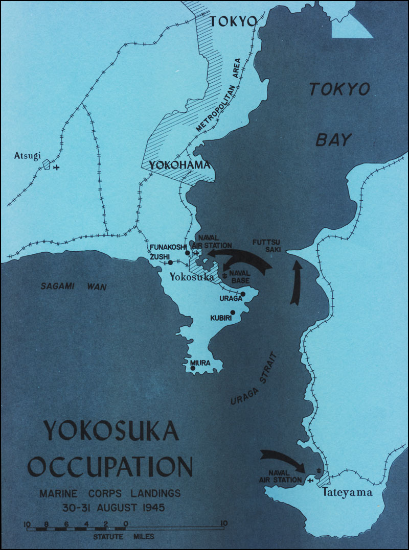 Marine Base In Japan Map.Hyprwar The United States Marines In The Occupation Of Japan