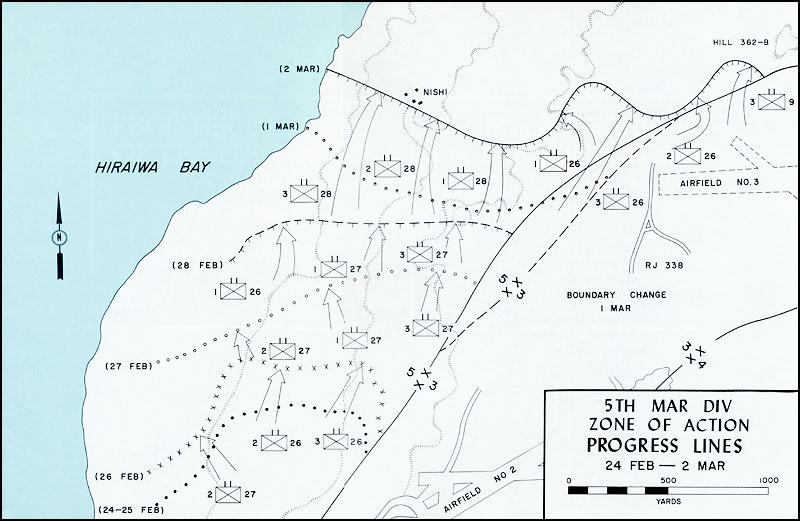 Episode037 Iwo Jima Map on