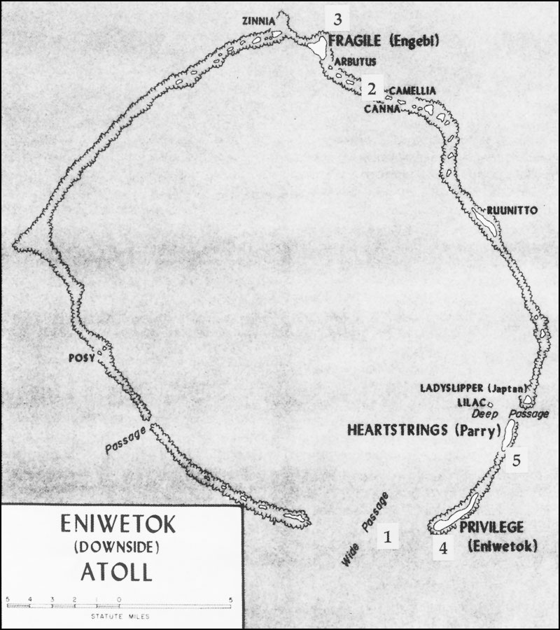 the capture of this atoll followed a carefully planned sequence using a variety of geographic points 1 entrance of u s ships into the lagoon through
