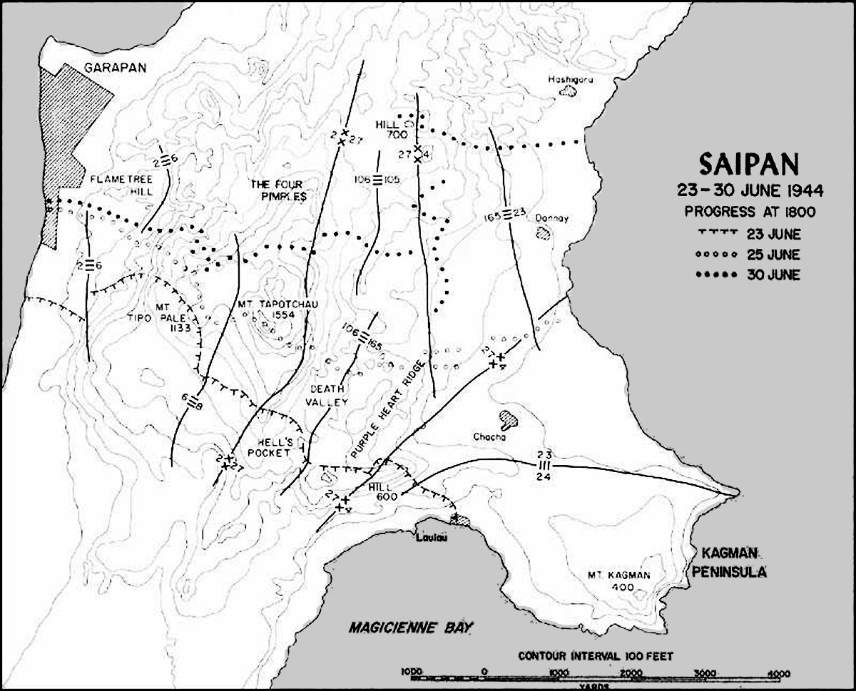 Breaching The Marianas The Battle For Saipan