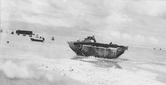 Across The Reef The Marine Assault Of Tarawa