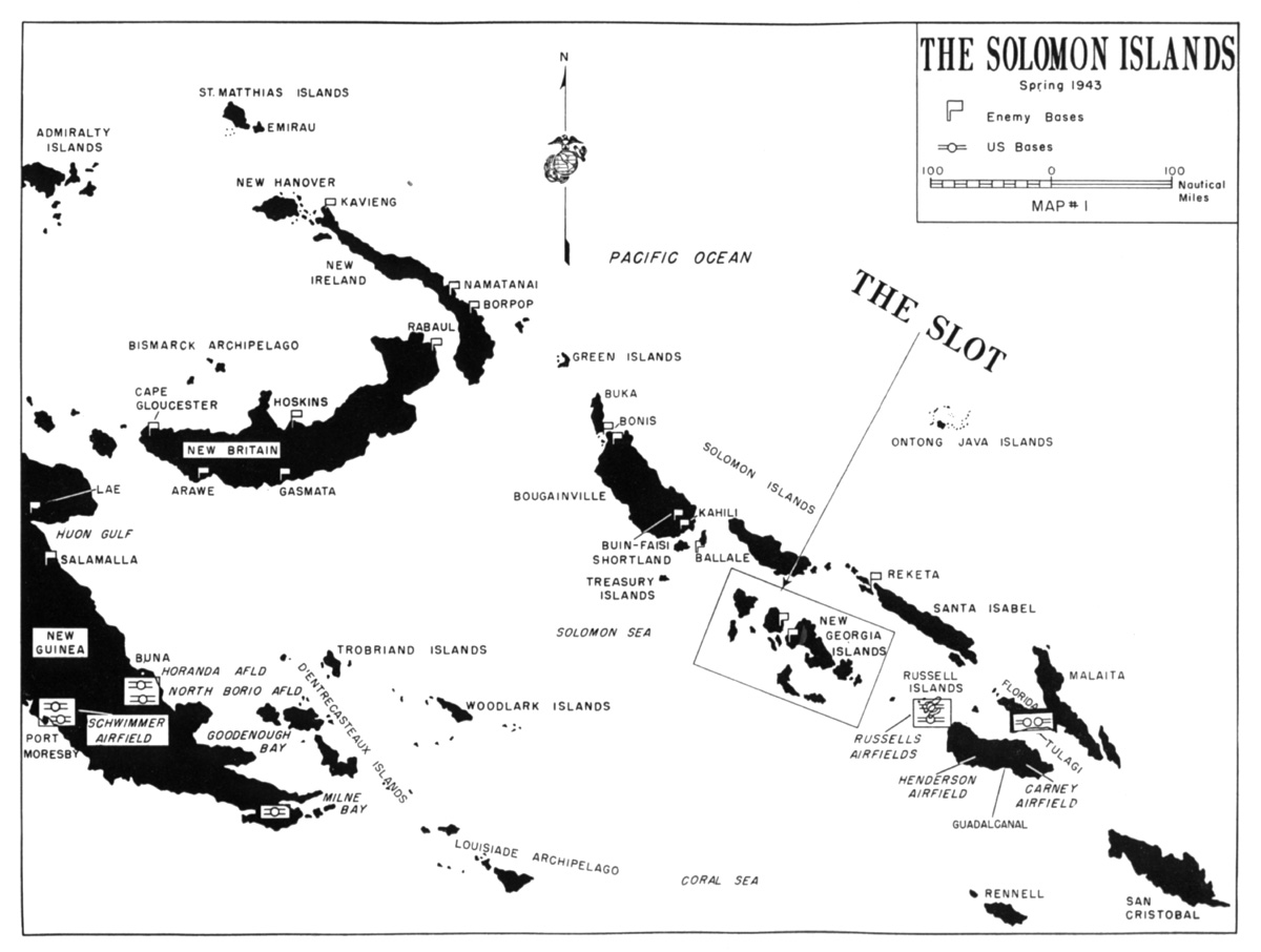 HyperWar: USMC Monograph--Marines in the Central Solomons