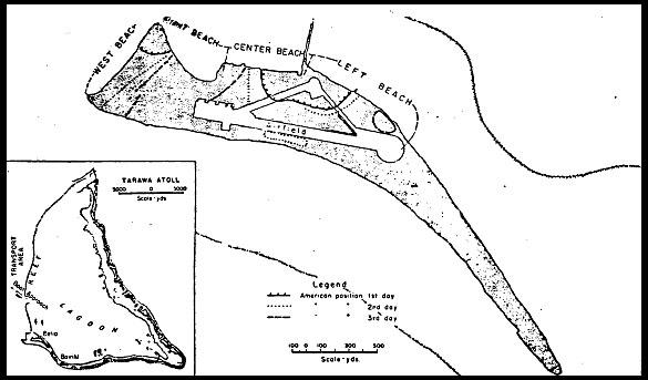 Betio Islet With Tarawa Atoll