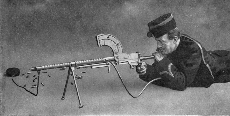 earliest machine gun