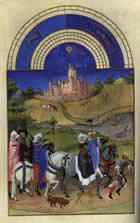 August from the Book of Hours