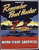 Remember Pearl Harbor poster