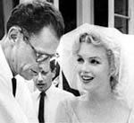 Arthur Miller & Marilyn Monroe's wedding,  1956
