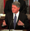 photo of bill clinton delivering state of the union address
