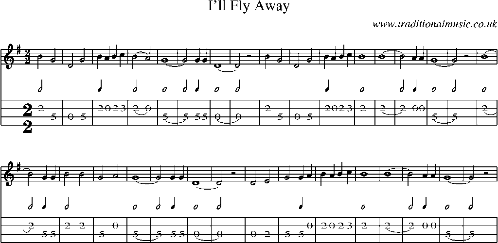 mp3  ill fly away