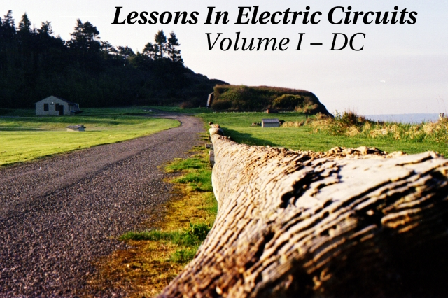 Lessons In Electric Circuits -- Volume I (DC) - Table of Contents