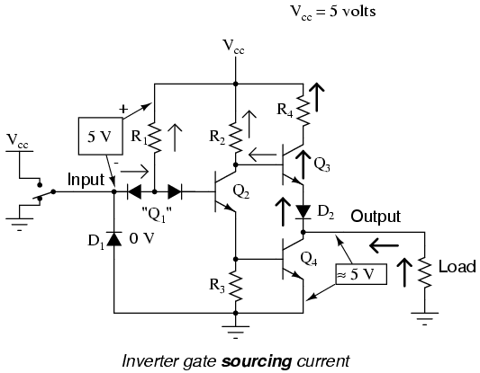 circuit diagrams of logic gates photos