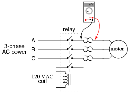 Reversing Contactor Wiring Diagram Single Phase on 3 phase motor wiring connection