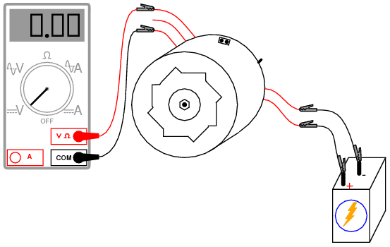 car alternator diagram with Exp 4 on 02 Record likewise 1973 Corvette Horn Diagram further Jump Starting A Flat Battery likewise 767752 Vacuum Four Way Splitter 1987 S4 likewise LM723 Voltage Regulator Circuit Diagram Consisting Of Cars L59813.