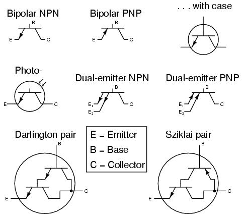 CIRCUIT SCHEMATIC SYMBOLS - Electronik & Computer