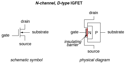 JFET-Junction Field Effect Transistor_Circuit Diagram World
