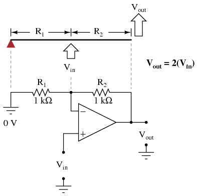 SEMI 8 on draw schematic op amp