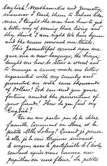 essay of a letter to his parents by jose rizal