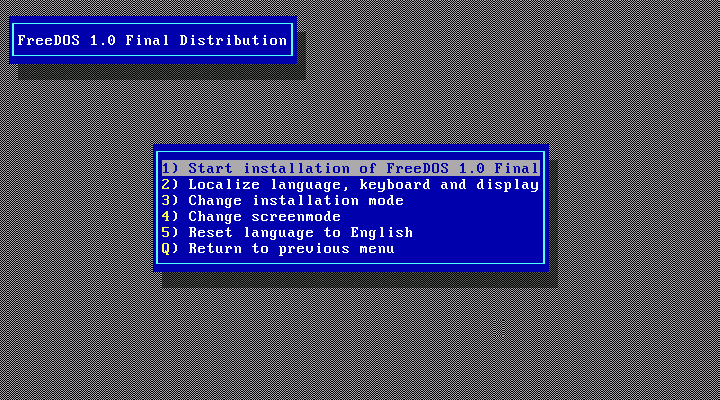 FreeDOS 1.1 full