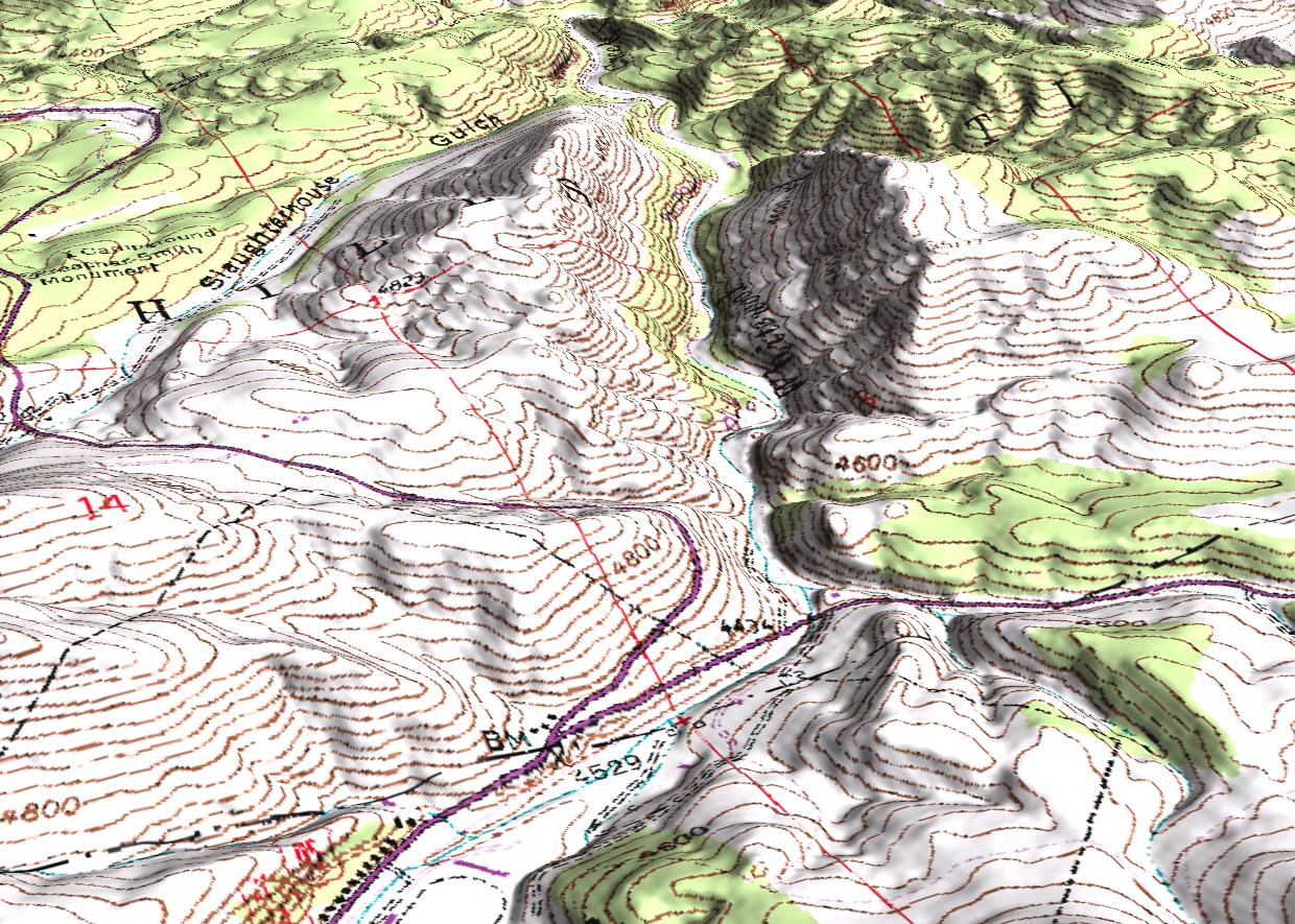 Visualization of a Usgs