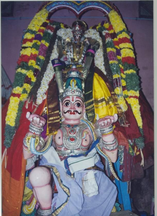 ThiruNaangur Divya Desams: Eleven garuda utsavam