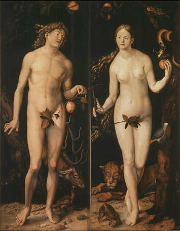 Lucas Cranach's Adam and Eve