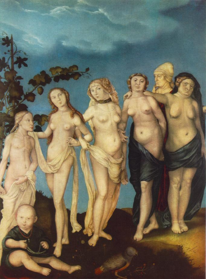 WebMuseum: Baldung Grien, Hans: The 'Ages' series and Death