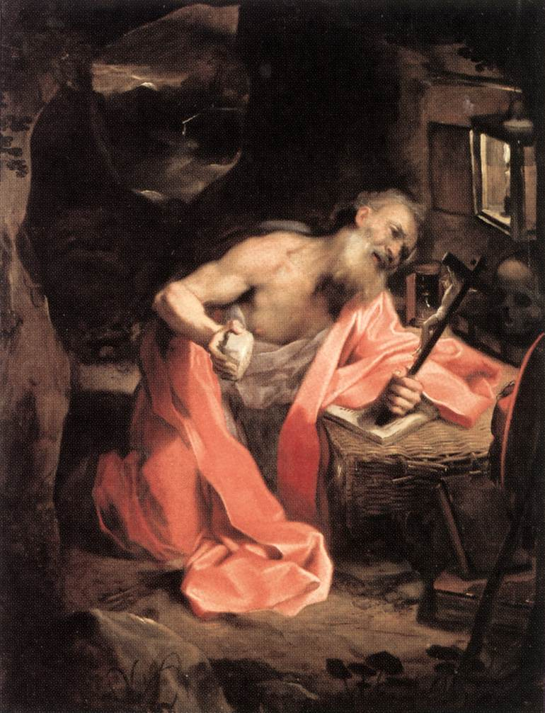 Webmuseum Barocci Federico Picture Of As The