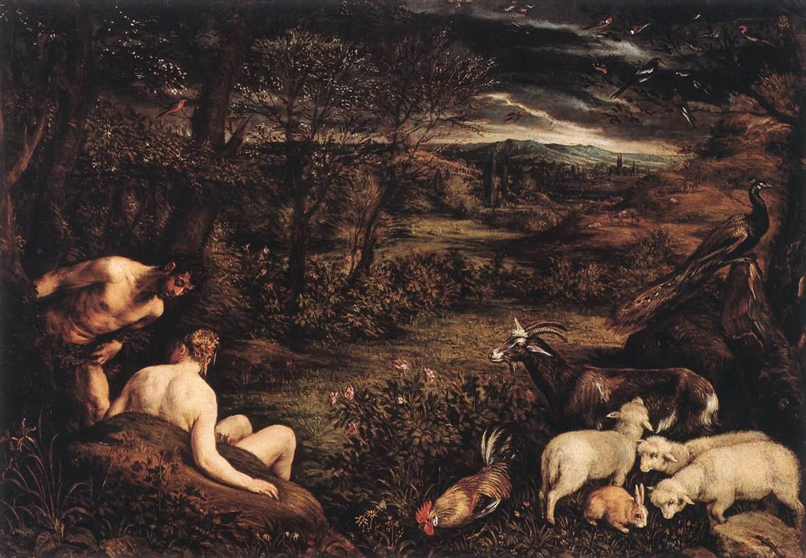 Jacopo Bassano-Eden