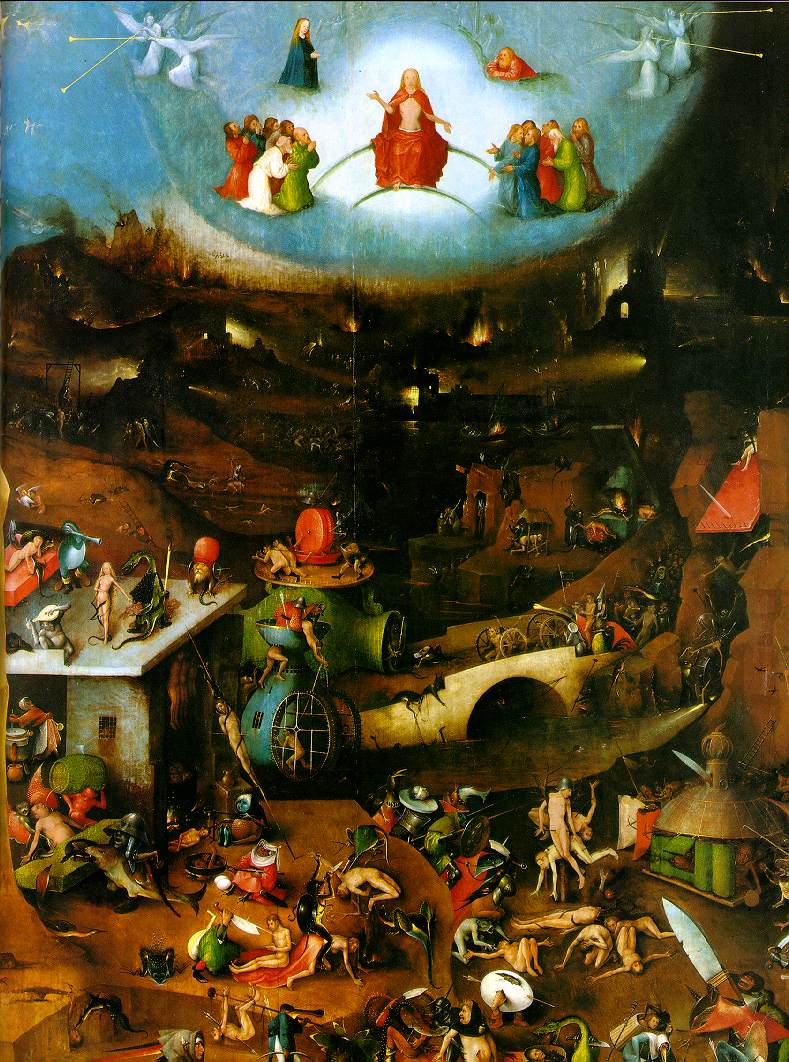 WebMuseum: Bosch, Hieronymus: The Last Judgement