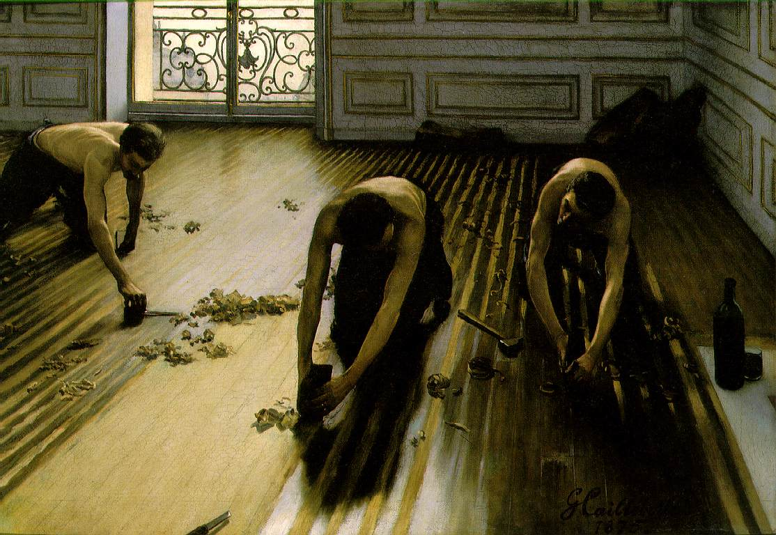 google images With caillebotte parquet