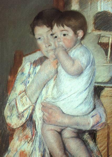 La mujer en el arte Maternity