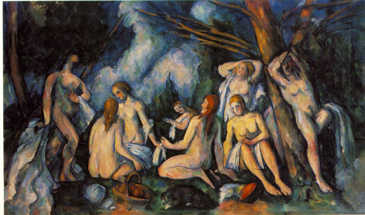 "Cezanne, ""Bathing Women"" (c. 1900-05)"