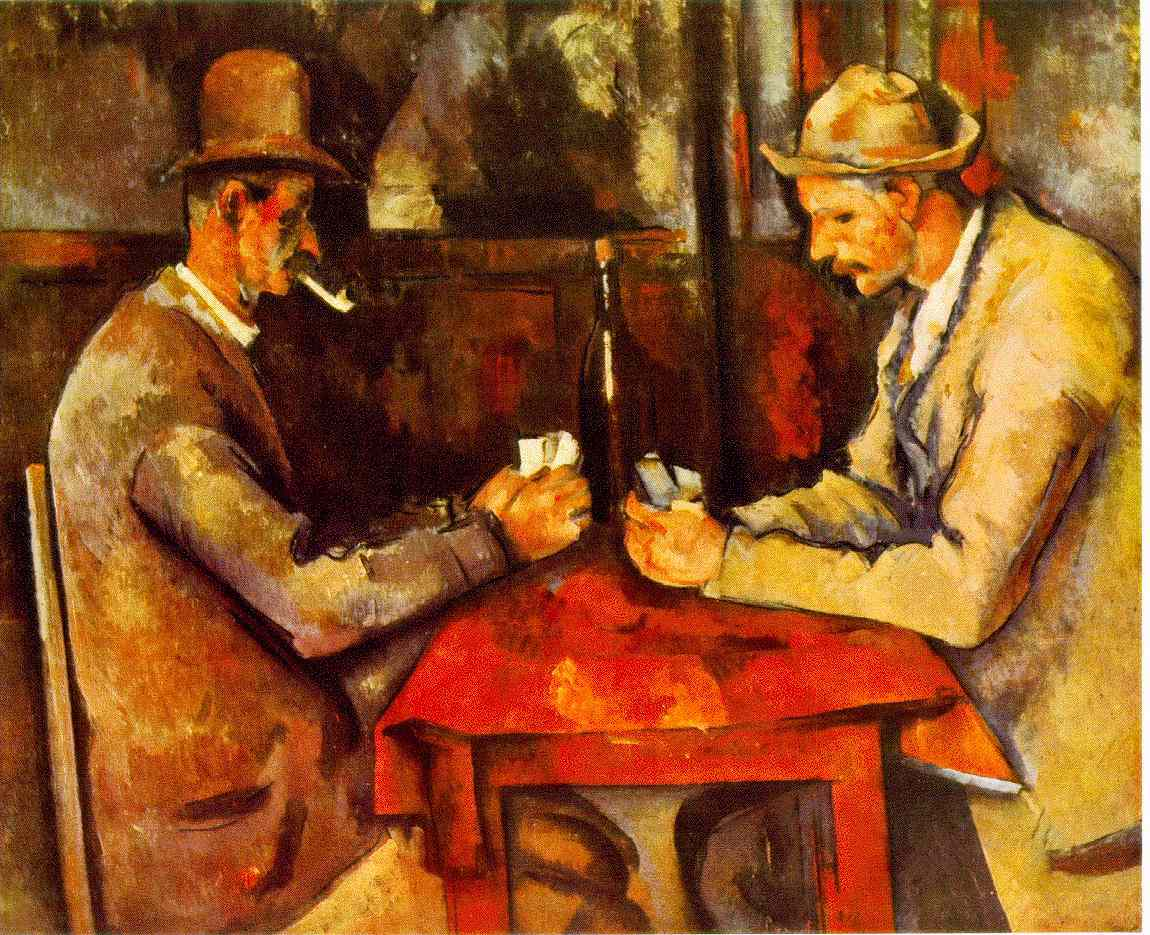 webmuseum c zanne paul the card players