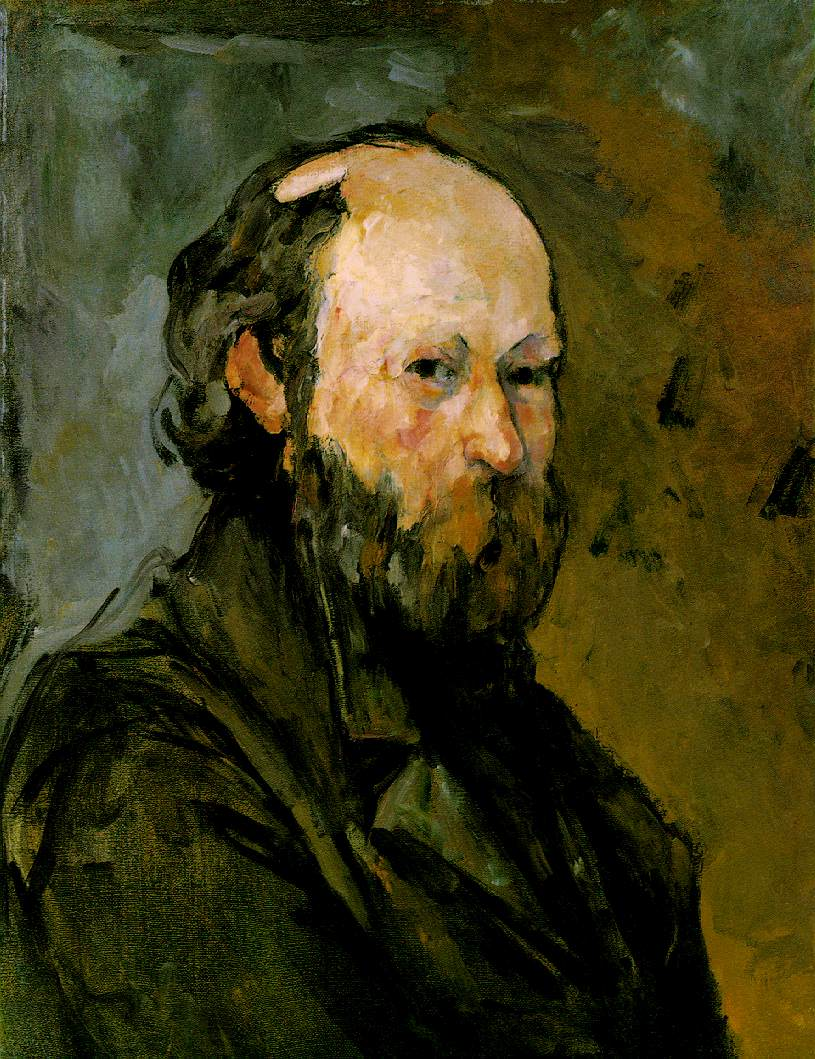Cézanne paul self portraits