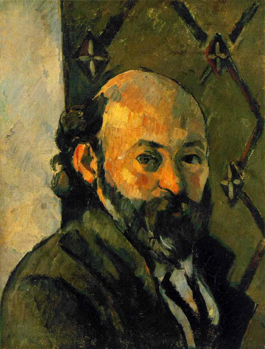 "Cezanne, ""Self-Portrait"" (1879)"