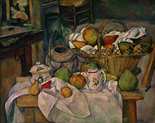 Remarkable Paul Cezanne Still Life with Basket of Apple's 601 x 476 · 26 kB · jpeg
