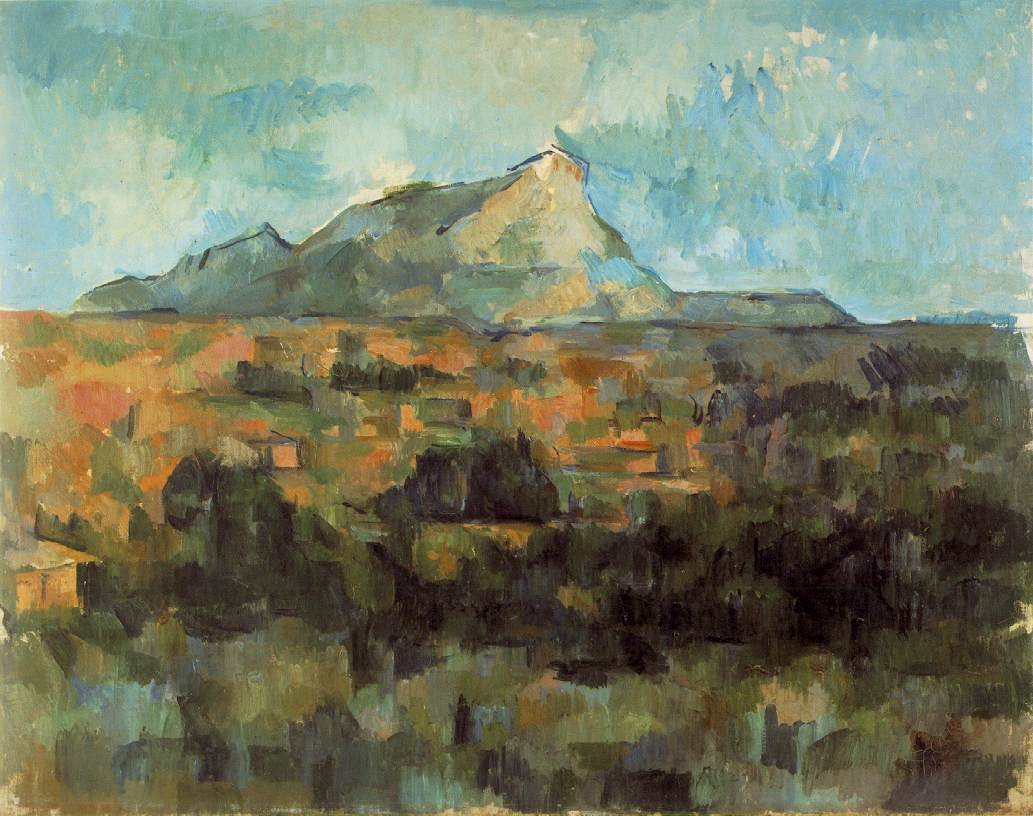 mont sainte victoire Paul cezanne: mt st victoire back up next photo of mt ste victoire i  wished to copy nature, but i could not i was only satisfied when i discovered that  the.