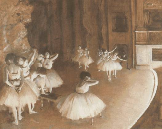 Degas Edgar Ballet dancers