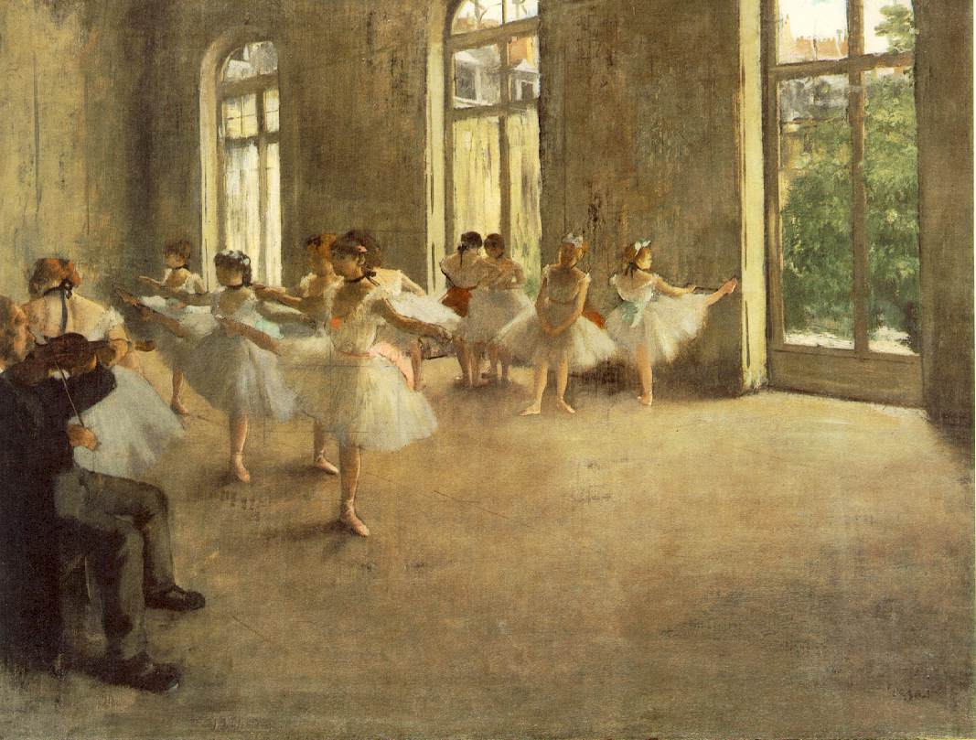 Edgar Degas The Rehearsal And Other Classroom Paintings The Aleph Mag