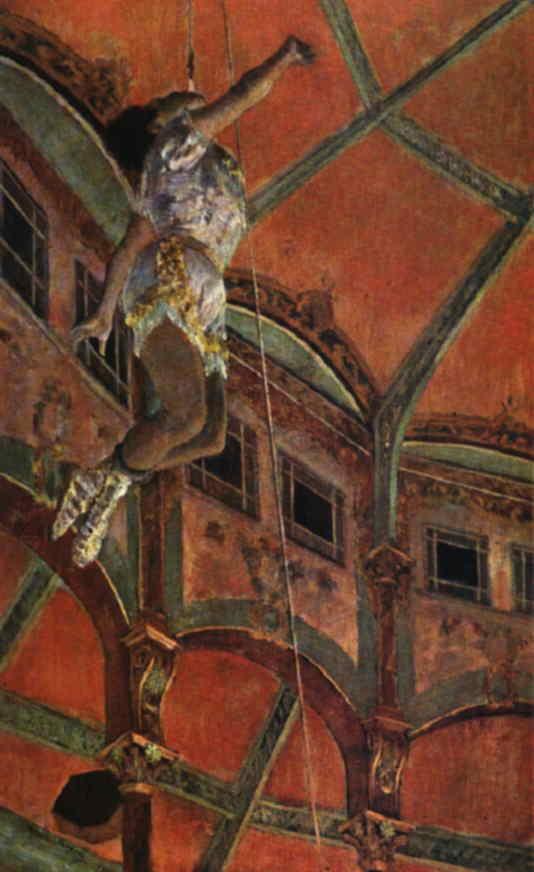 Webmuseum Degas Edgar Miss Lala At The Cirque Fernando