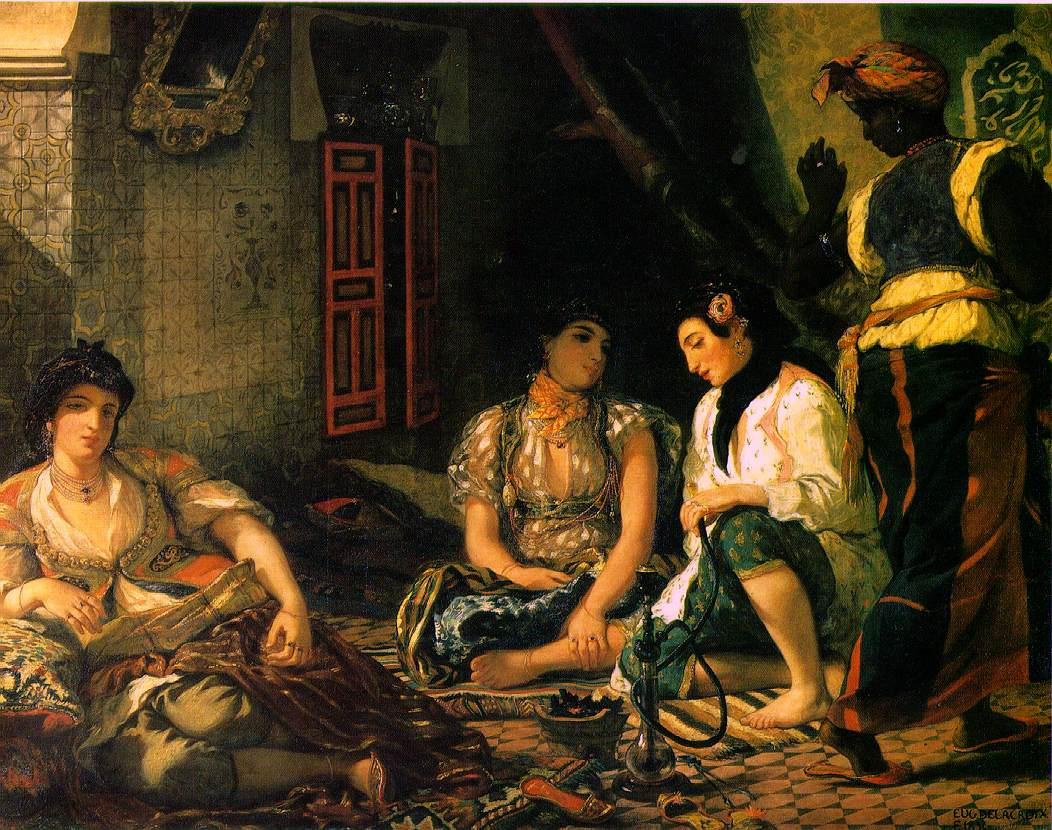 Algerian Women in Their Apartments: www.ibiblio.org/wm/paint/auth/delacroix