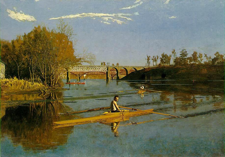 Max Schmitt In A Single Scull Paint Artist