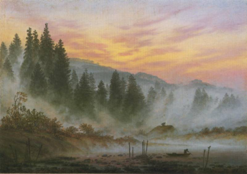 Caspar David Friedrich (1774-1840) Friedrich.morning